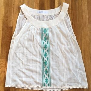 Carve Design Organic Cotton Tank Top